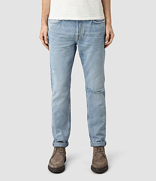 Mens Fellow Pistol Jeans (MID INDIGO BLUE)