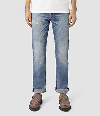 Hommes Tallahessee Iggy Jeans (MID INDIGO BLUE)