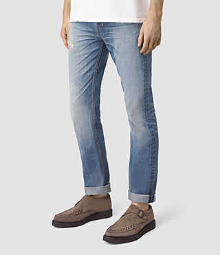 Hombres Tallahessee Iggy Jeans (MID INDIGO BLUE) - product_image_alt_text_2