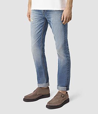 Uomo Tallahessee Iggy Jeans (MID INDIGO BLUE) - product_image_alt_text_2