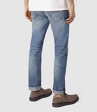 Hombres Tallahessee Iggy Jeans (MID INDIGO BLUE) - product_image_alt_text_3
