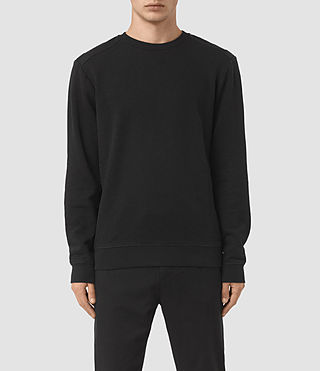 Hommes Millage Crew Jumper (Black) -