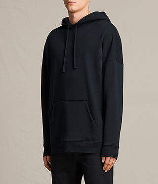 Mens Anark Pullover Hoody (Jet Black) - product_image_alt_text_2
