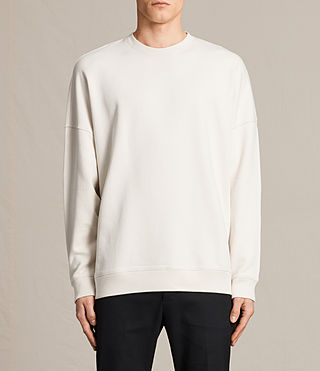 Mens Anark Crew Sweatshirt (Vintage White) - product_image_alt_text_1