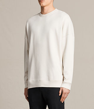 Men's Anark Crew Sweatshirt (Vintage White) - product_image_alt_text_2
