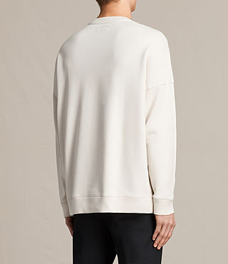 Men's Anark Crew Sweatshirt (Vintage White) - product_image_alt_text_3
