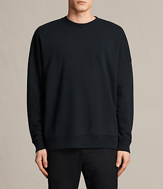 Mens Anark Crew Sweatshirt (Jet Black)