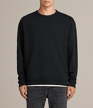 Men's Putro Crew Sweatshirt (Jet Black) - Image 1