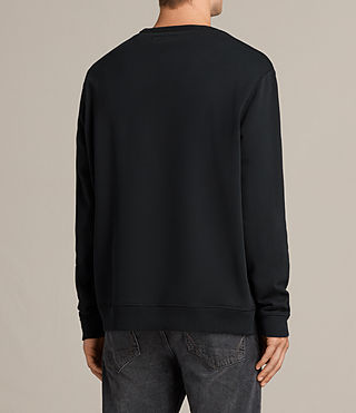 Men's Putro Crew Sweatshirt (Jet Black) - Image 4