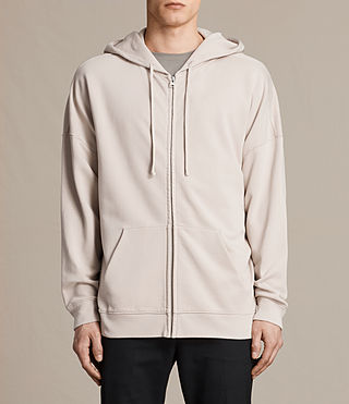 Hombre Anark Zip Hoody (ROSE GREY) - product_image_alt_text_1