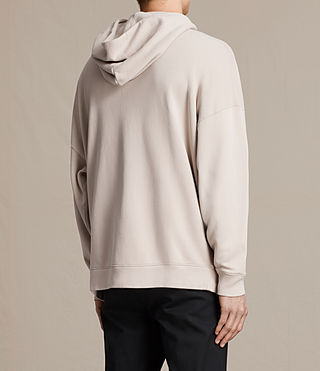 Hombres Anark Zip Hoody (ROSE GREY) - product_image_alt_text_3