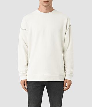 Mens Vander Crew Sweatshirt (VINT WHITE/FROSTY) - product_image_alt_text_1