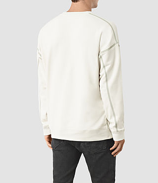 Mens Vander Crew Sweatshirt (VINT WHITE/FROSTY) - product_image_alt_text_2