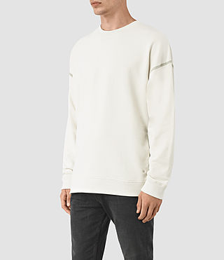 Hombres Vander Crew Sweatshirt (VINT WHITE/FROSTY) - product_image_alt_text_3