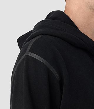 Herren Vander Zip Hoody (Black/Black) - product_image_alt_text_2