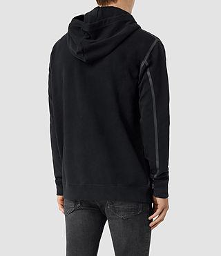 Herren Vander Zip Hoody (Black/Black) - product_image_alt_text_4