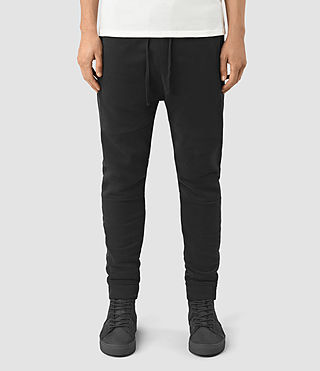 Hommes Vander Sweat Pants (Black/Black)