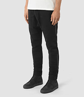 Men's Vander Sweat Pants (Black/Black) - product_image_alt_text_3