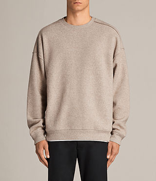 Hommes Sweat Cortel (LIGHT TAUPE/TAUPE) - Image 1