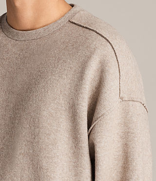 Hommes Sweat Cortel (LIGHT TAUPE/TAUPE) - Image 2