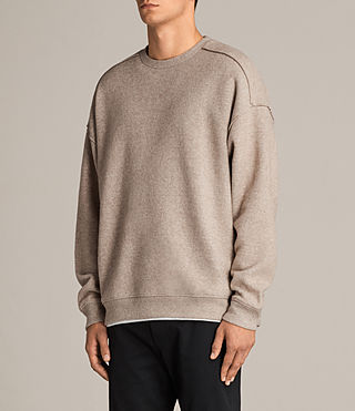 Hommes Sweat Cortel (LIGHT TAUPE/TAUPE) - Image 3