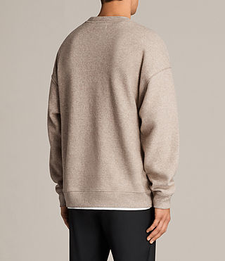 Hommes Sweat Cortel (LIGHT TAUPE/TAUPE) - Image 4