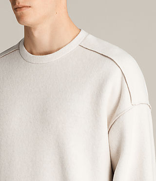 Hombre Sudadera Cortel (CHALK/TAUPE) - Image 2