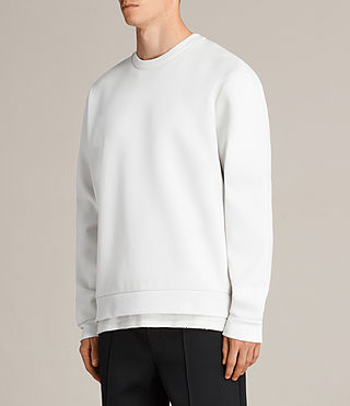 Herren Remus Sweatshirt (IVORY/PUTTY BROWN) - Image 3