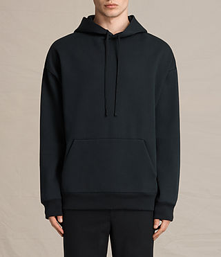 Mens Hibern Pullover Hoody (Jet Black) - product_image_alt_text_1