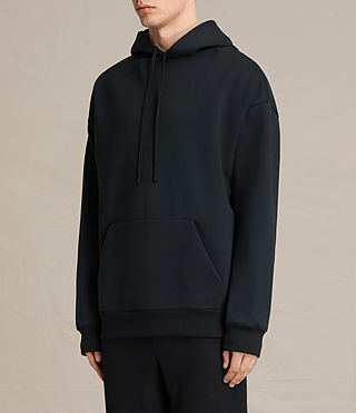 Mens Hibern Pullover Hoody (Jet Black) - product_image_alt_text_2