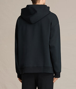 Mens Hibern Pullover Hoody (Jet Black) - product_image_alt_text_3