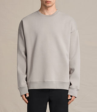 Mens Hibern Crew Sweatshirt (Putty Brown)
