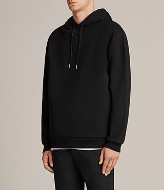 Men's Remus Pullover Hoody (Jet Black) - product_image_alt_text_3