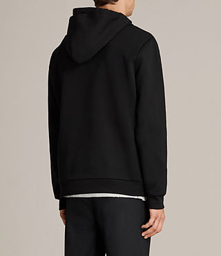 Men's Remus Pullover Hoody (Jet Black) - product_image_alt_text_4