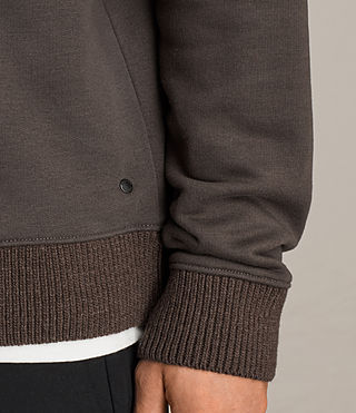 Men's Elders Crew Sweatshirt (Washed Khaki) - Image 2