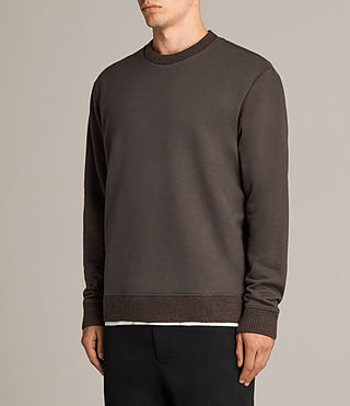 Men's Elders Crew Sweatshirt (Washed Khaki) - Image 3