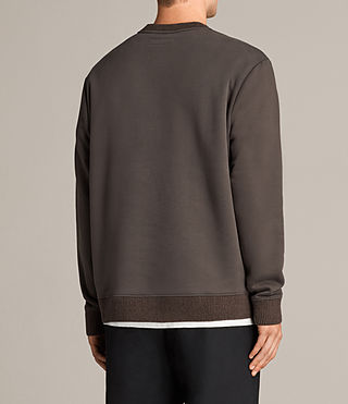 Men's Elders Crew Sweatshirt (Washed Khaki) - Image 4