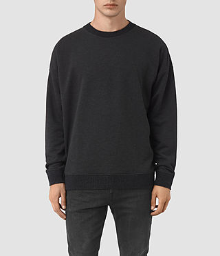 Mens Elders Crew Sweatshirt (Cinder Marl)