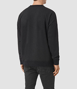 Hommes Elders Crew Sweatshirt (Cinder Marl) - product_image_alt_text_4