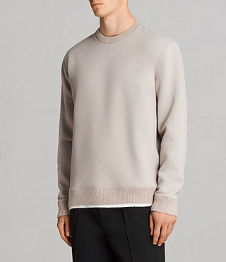 Hommes Sweat Elders (POMISE ECRU) - product_image_alt_text_3