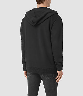 Mens Elders Zip Hoody (Jet Black) - product_image_alt_text_3