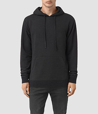 Hombre Elders Pullover Hoody (Cinder Marl) - product_image_alt_text_1