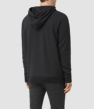 Hommes Elders Pullover Hoody (Cinder Marl) - product_image_alt_text_3