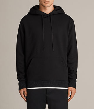 Men's Elders Pullover Hoody (Black) - Image 1
