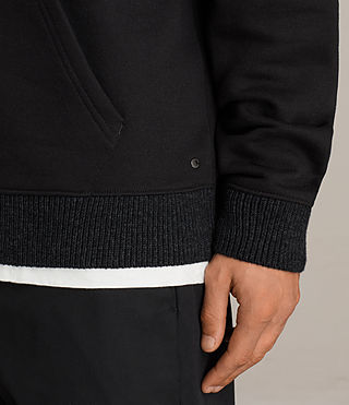 Men's Elders Pullover Hoody (Black) - Image 2
