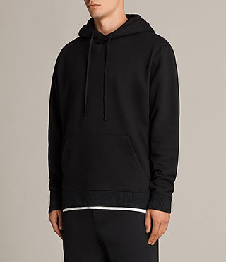 Men's Elders Pullover Hoody (Black) - Image 3