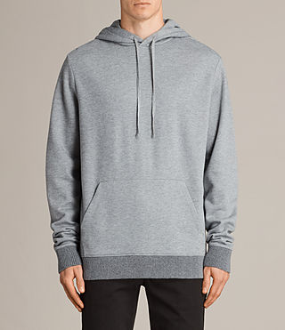 Mens Elders Pullover Hoody (SMOG GREY) - Image 1