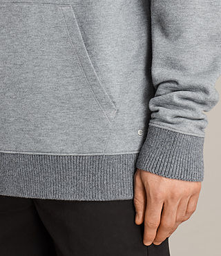 Mens Elders Pullover Hoody (SMOG GREY) - Image 2