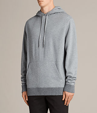 Mens Elders Pullover Hoody (SMOG GREY) - Image 3