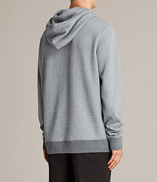 Mens Elders Pullover Hoody (SMOG GREY) - Image 4